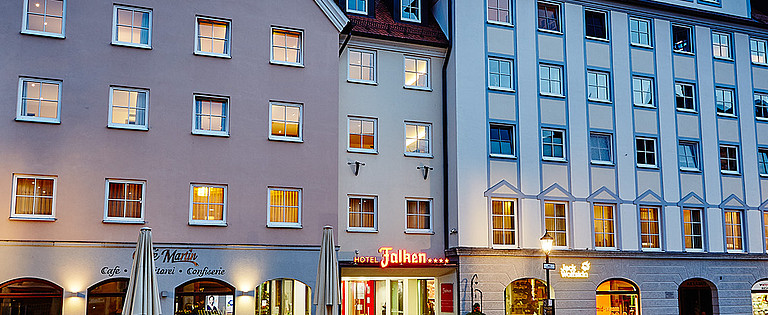 Das Hotel Falken in Memmingen